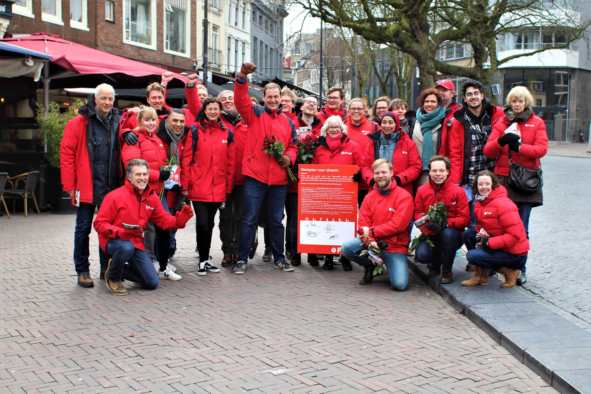 Zeker Zijn - Campagne PvdA straat